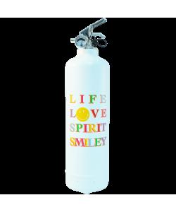 Extincteur design Smiley Love Spirit