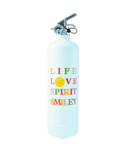 Fire extinguisher design Smiley Love Spirit