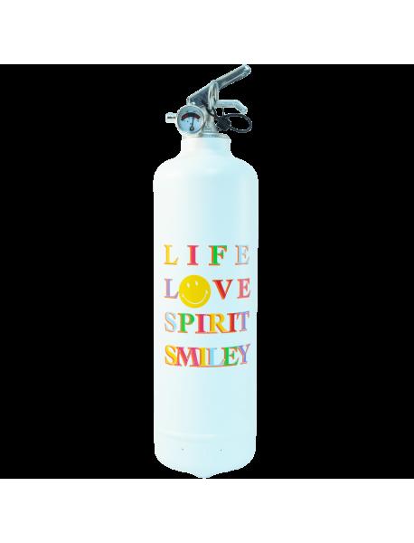 Estintore design Smiley Love Spirit