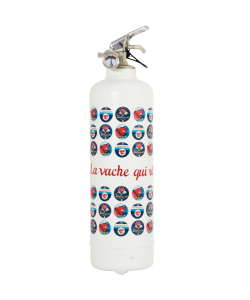 Fire extinguisher design Laughing Cow Label