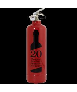 Fire extinguisher design Beaujolais 20 ans