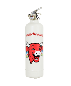 Fire extinguisher design Vache qui Rit Classic red