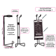 Estintore design ACDC High Voltage grigio