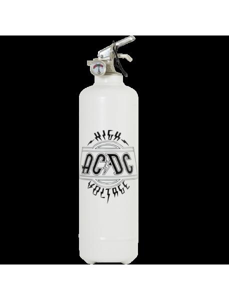 Estintore design ACDC Logo High Voltage