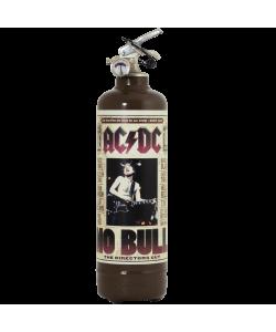 Extincteur design ACDC No Bull