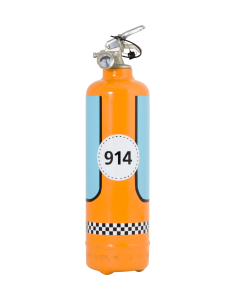 Fire extinguisher design Autosport with customizable box