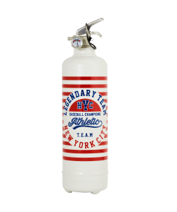 Fire extinguisher design Athletic Team NY