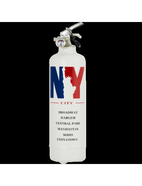 Extincteur design City NBY blanc
