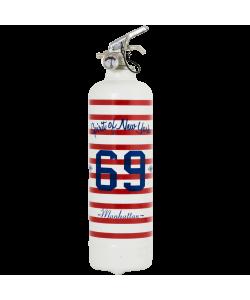 Extincteur design Manhattan 69 blanc