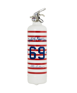 Fire extinguisher design Manhattan 69 white