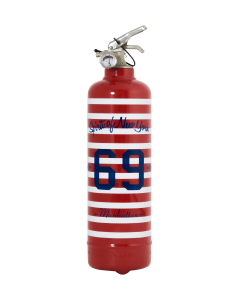 Fire extinguisher design Manhattan 69 red