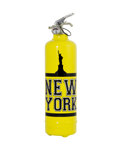 Fire extinguisher design NY Statue yellow