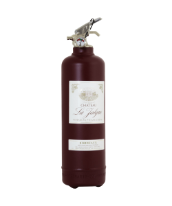 Fire extinguisher design Vin Bordeaux