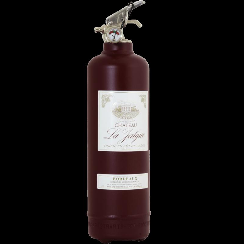 Extincteur design vin bordeaux for Bordeaux design