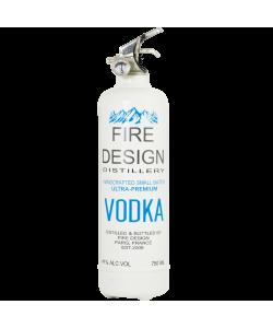 Extincteur design Vodka blanc