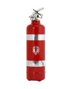 Fire extinguisher design World of Tanks bandeau red