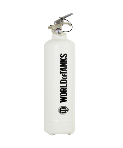 Fire extinguisher design World of Tanks Classic white