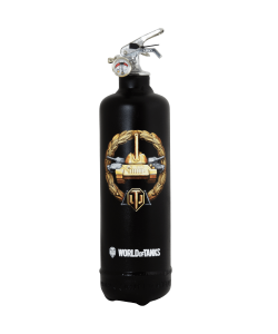 Fire extinguisher design World of Tanks Medaille black