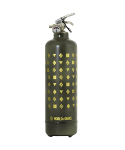 Fire extinguisher design World of Tanks Monogram