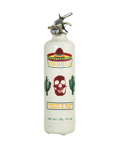 Fire extinguisher design Mexican Tequila