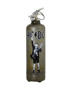 Fire extinguisher vintage ACDC Guitar