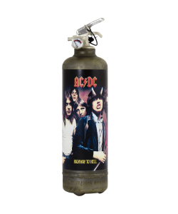 Fire extinguisher vintage ACDC High to Hell