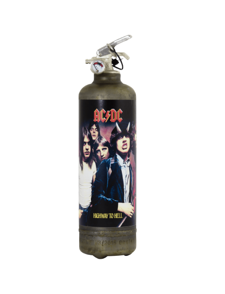 Extincteur vintage ACDC High to Hell
