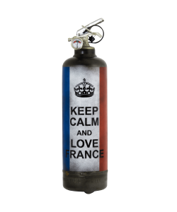 Extincteur vintage Keep Calm France