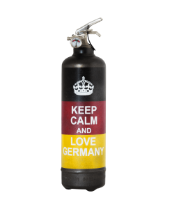 Extincteur vintage Keep Calm Germany