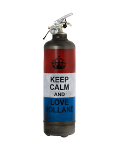 Extincteur vintage Keep Calm Holland