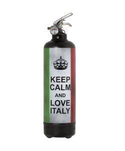 Extincteur vintage Keep Calm Italy