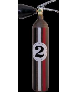 Estintore design LOFT 2Co2 E2R Fangio industriale