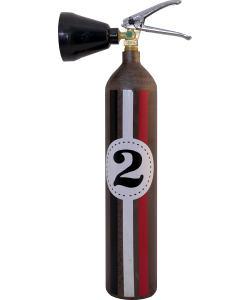 Fire extinguisher design LOFT 2Co2 E2R Fangio raw