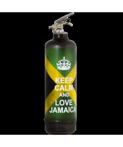 Extincteur vintage Keep Calm Jamaica