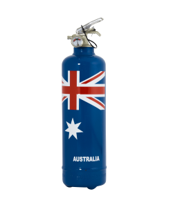 Extincteur design Australia flag