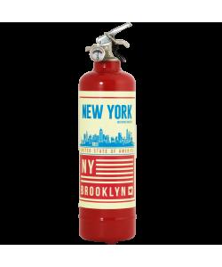 Estintore design Brooklyn rosso