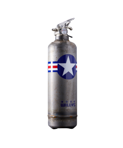 Fire extinguisher design WILLYS Star vintage