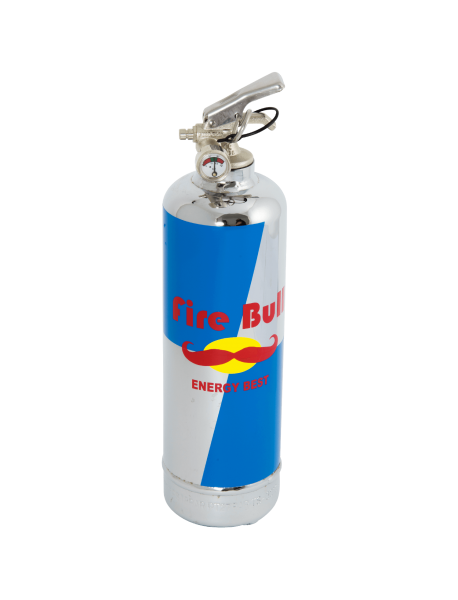 Estintore cromo Fire Bull