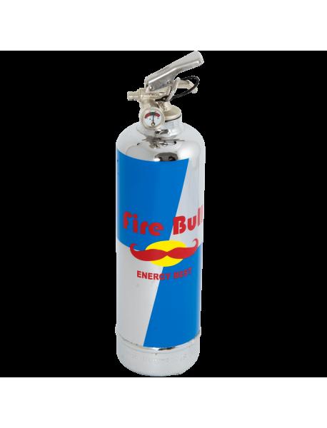 Extincteur chrome Fire Bull