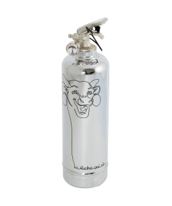 Fire extinguisher chrome Laughing Cow Dessin