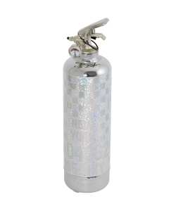 Fire extinguisher Chrome Rallye RG paillette