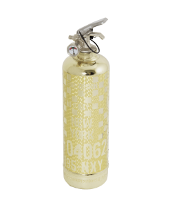 Gold Fire extinguisher Rallye RG Carbon