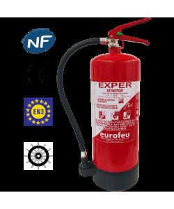 Extincteur eau pulvérisée avec additif ABF 6 litres NF et CE-EN3