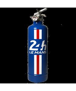 Extincteur design 24H Bandeau bleu