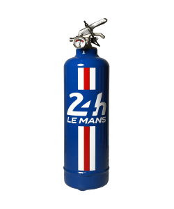 Fire extinguisher design 24H LE MANS Bandeau blue