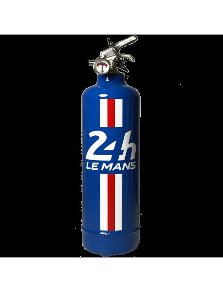 extincteur design 24H LE MANS Bandeau bleu