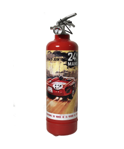 Car extinguisher 24H Le Mans 1961 red