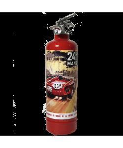 Estintore fuoco auto 24H Le Mans 1961 rosso