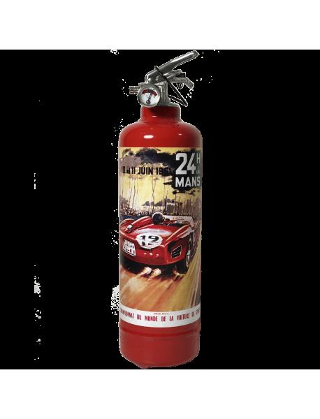 Extincteur voiture 24H Le Mans 1961 rouge