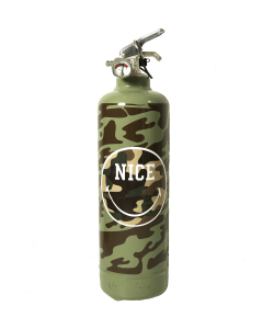 Fire extinguisher design Smiley Nice Military khaki